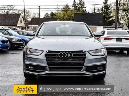 2016 Audi A4 2.0T Komfort plus (Stk: 002482) in Ottawa - Image 2 of 30
