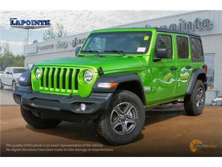 2019 Jeep Wrangler Unlimited Sport (Stk: 19312) in Pembroke - Image 2 of 20