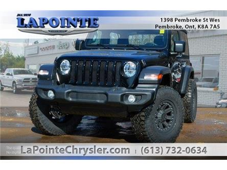 2019 Jeep Wrangler Sport (Stk: 19237) in Pembroke - Image 1 of 20