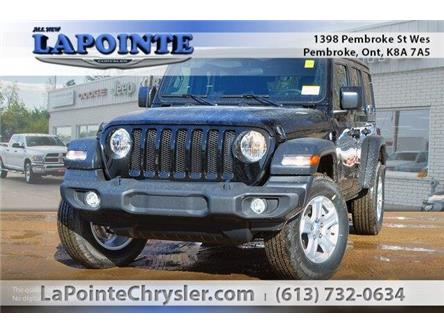 2019 Jeep Wrangler Unlimited Sport (Stk: 19273) in Pembroke - Image 1 of 20