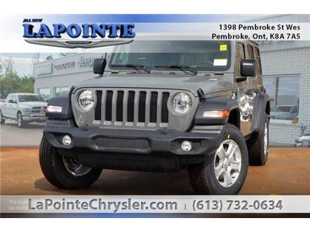 2019 Jeep Wrangler Unlimited Sport (Stk: 19275) in Pembroke - Image 1 of 20