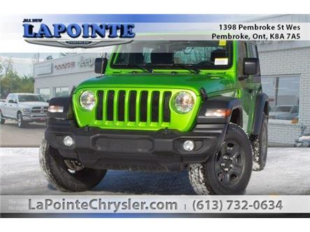 2019 Jeep Wrangler Sport (Stk: 19218) in Pembroke - Image 1 of 20
