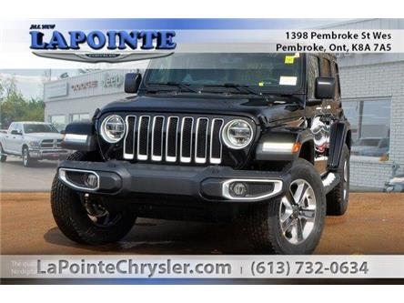 2019 Jeep Wrangler Unlimited Sahara (Stk: 19278) in Pembroke - Image 1 of 20