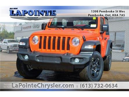 2019 Jeep Wrangler Sport (Stk: 19231) in Pembroke - Image 1 of 20