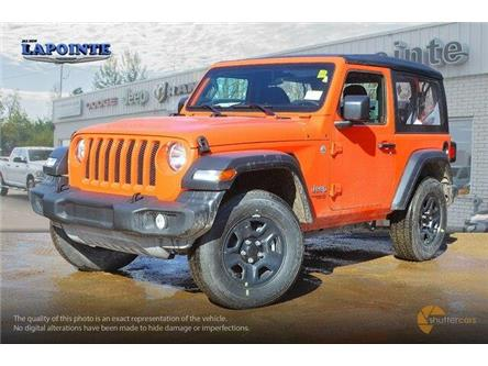 2019 Jeep Wrangler Sport (Stk: 19263) in Pembroke - Image 2 of 20