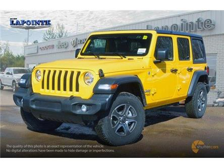 2019 Jeep Wrangler Unlimited Sport (Stk: 19233) in Pembroke - Image 2 of 20