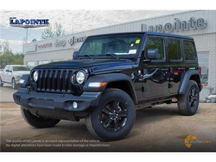 2019 Jeep Wrangler Unlimited Sport (Stk: 19370) in Pembroke - Image 2 of 20