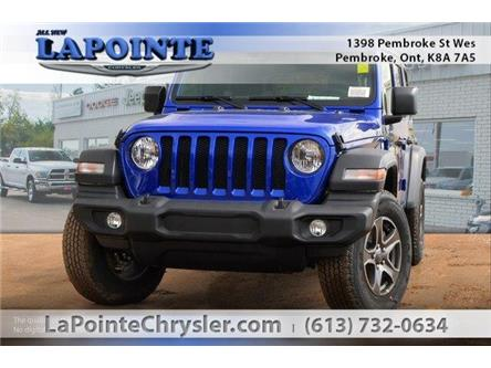 2019 Jeep Wrangler Unlimited Sport (Stk: 19342) in Pembroke - Image 1 of 20