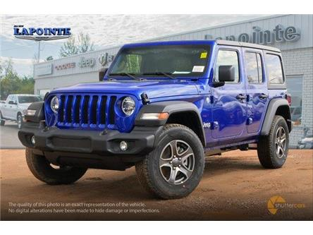 2019 Jeep Wrangler Unlimited Sport (Stk: 19342) in Pembroke - Image 2 of 20