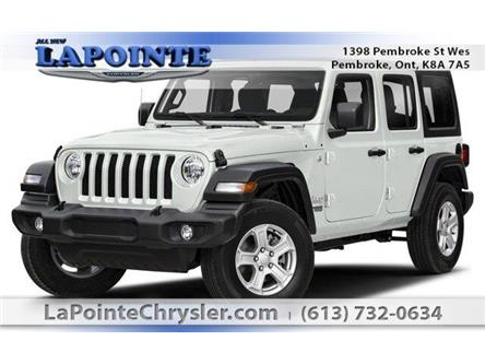 2019 Jeep Wrangler Unlimited Sport (Stk: 19323) in Pembroke - Image 1 of 9