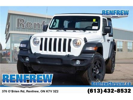 2019 Jeep Wrangler Sport (Stk: K176) in Renfrew - Image 1 of 20