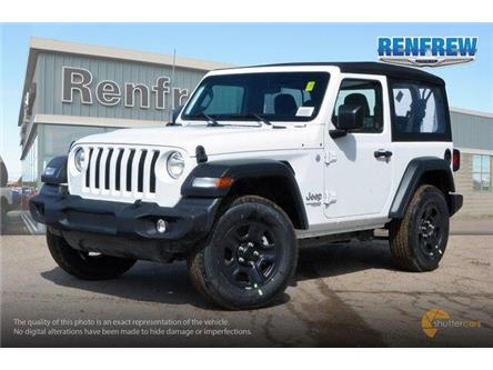 2019 Jeep Wrangler Sport (Stk: K176) in Renfrew - Image 2 of 20