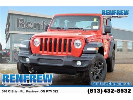 2019 Jeep Wrangler Sport (Stk: K175) in Renfrew - Image 1 of 20