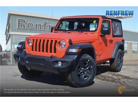 2019 Jeep Wrangler Sport (Stk: K182) in Renfrew - Image 2 of 20