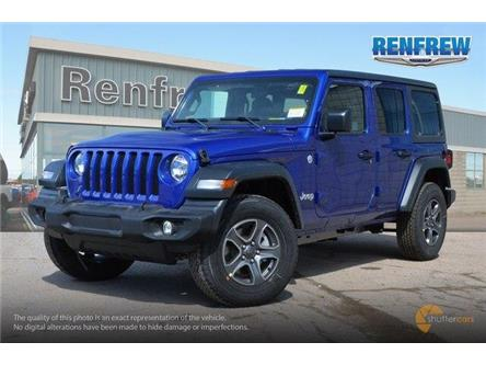 2019 Jeep Wrangler Unlimited Sport (Stk: K212) in Renfrew - Image 2 of 20