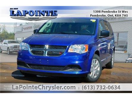 2019 Dodge Grand Caravan CVP/SXT (Stk: 19191) in Pembroke - Image 1 of 20