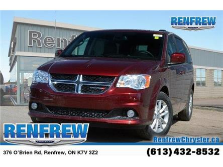 2019 Dodge Grand Caravan CVP/SXT (Stk: K201) in Renfrew - Image 1 of 20