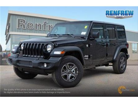 2019 Jeep Wrangler Unlimited Sport (Stk: K229) in Renfrew - Image 2 of 20