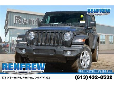 2019 Jeep Wrangler Sport (Stk: K190) in Renfrew - Image 1 of 20