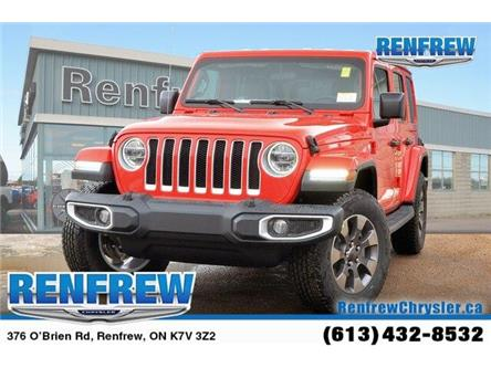 2019 Jeep Wrangler Unlimited Sahara (Stk: K164) in Renfrew - Image 1 of 20