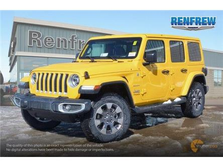 2019 Jeep Wrangler Unlimited Sahara (Stk: K159) in Renfrew - Image 2 of 20
