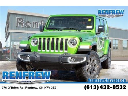 2019 Jeep Wrangler Unlimited Sahara (Stk: K158) in Renfrew - Image 1 of 17
