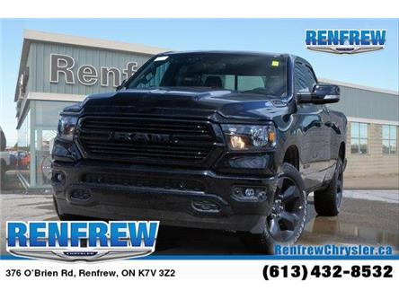 2019 RAM 1500 Big Horn (Stk: K314) in Renfrew - Image 1 of 20