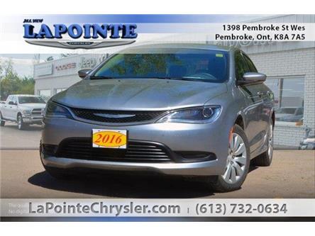 2016 Chrysler 200 LX (Stk: 19064B) in Pembroke - Image 1 of 20