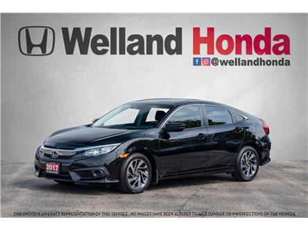 2017 Honda Civic EX (Stk: U19272) in Welland - Image 1 of 22