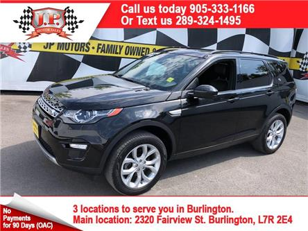 2016 Land Rover Discovery Sport HSE (Stk: 47610) in Burlington - Image 1 of 27