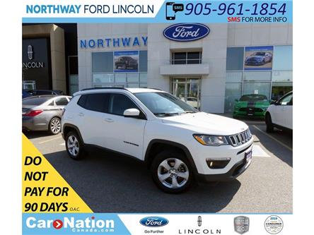 2018 Jeep Compass North | 4x4 | LEATHER | BLUETOOTH | PUSH START | (Stk: DR338) in Brantford - Image 1 of 38