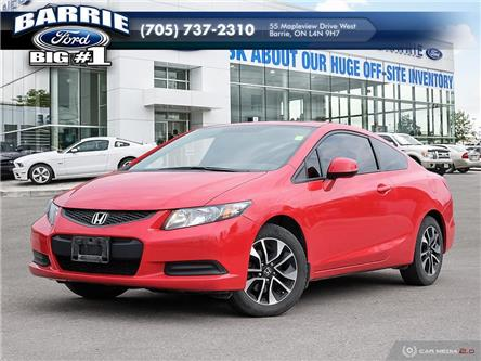2013 Honda Civic EX (Stk: T1129A) in Barrie - Image 1 of 8