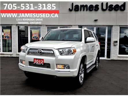 2012 Toyota 4Runner SR5 V6 (Stk: N19399A) in Timmins - Image 1 of 14