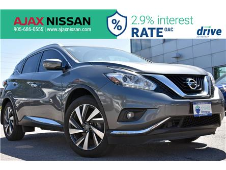 2018 Nissan Murano Platinum (Stk: P4126CV) in Ajax - Image 1 of 36