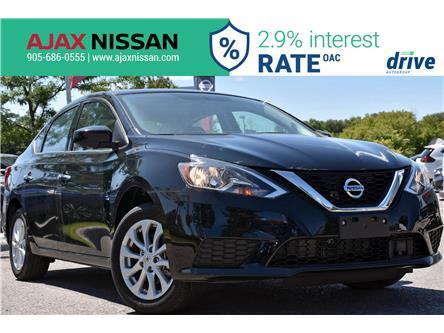 2019 Nissan Sentra 1.8 SV (Stk: P4226CV) in Ajax - Image 1 of 32