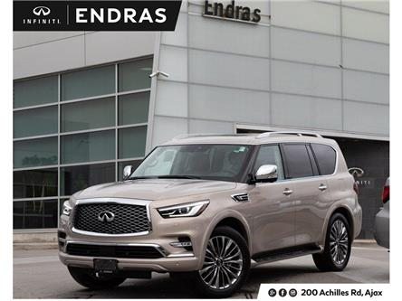 2019 Infiniti QX80 LUXE 7 Passenger (Stk: 80107) in Ajax - Image 1 of 29