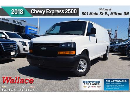 2018 Chevrolet Express 2500 Work Van/2 SEAT/6040 DOOR/REAR CAM/STORAGE BIN (Stk: PR5034) in Milton - Image 1 of 20