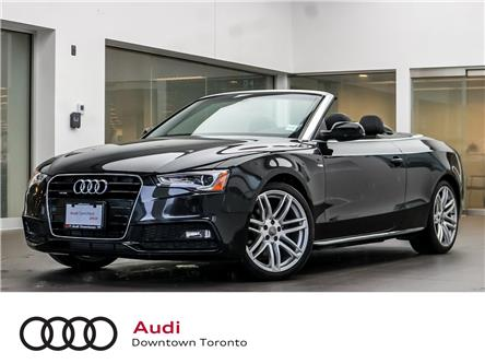 2015 Audi A5 2.0T Technik (Stk: P3223) in Toronto - Image 1 of 28