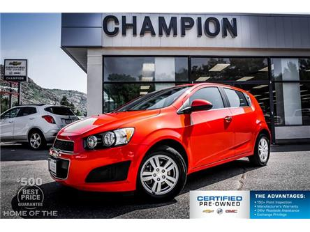 2013 Chevrolet Sonic LT Manual (Stk: P19-253A) in Trail - Image 1 of 21