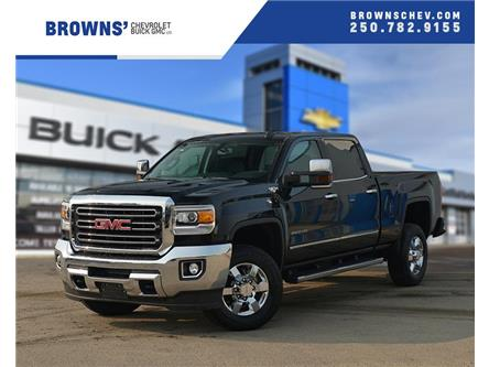 2019 GMC Sierra 2500HD SLT (Stk: T19-545) in Dawson Creek - Image 1 of 17