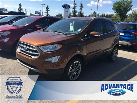 2019 Ford EcoSport Titanium (Stk: K-499) in Calgary - Image 1 of 5