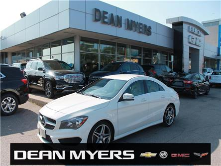 2016 Mercedes-Benz CLA-Class Base (Stk: C202265) in North York - Image 1 of 21
