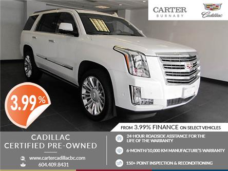 2017 Cadillac Escalade Platinum (Stk: C9-92091) in Burnaby - Image 1 of 26