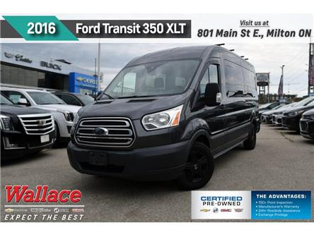 2016 Ford Transit XLT w/Cargo Door/REAR CAM/NAV/ECOBOOST/7-SEATER (Stk: 193217A) in Milton - Image 1 of 16