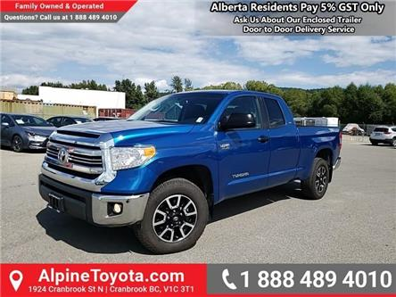 2017 Toyota Tundra  (Stk: X636654M) in Cranbrook - Image 1 of 24