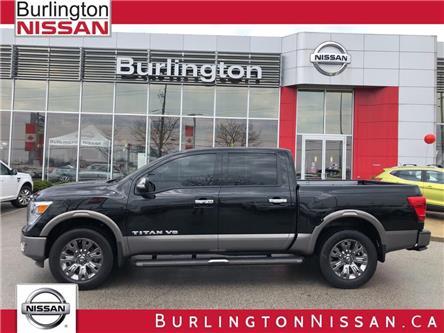 2018 Nissan Titan Platinum (Stk: A6706) in Burlington - Image 1 of 20