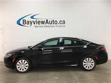 2015 Chrysler 200 LX (Stk: 35281W) in Belleville - Image 1 of 26