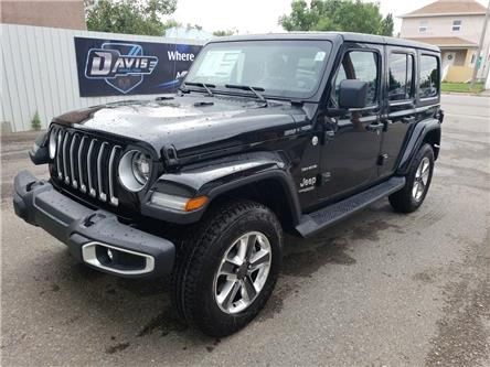 2020 Jeep Wrangler Unlimited Sahara (Stk: 15697) in Fort Macleod - Image 1 of 21