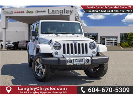 2017 Jeep Wrangler Unlimited 24G (Stk: EE910550) in Surrey - Image 1 of 22