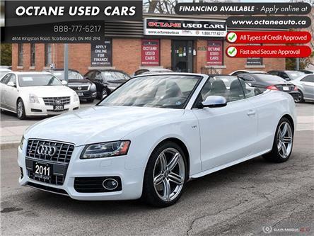 2011 Audi S5 3.0 Premium (Stk: ) in Scarborough - Image 1 of 26